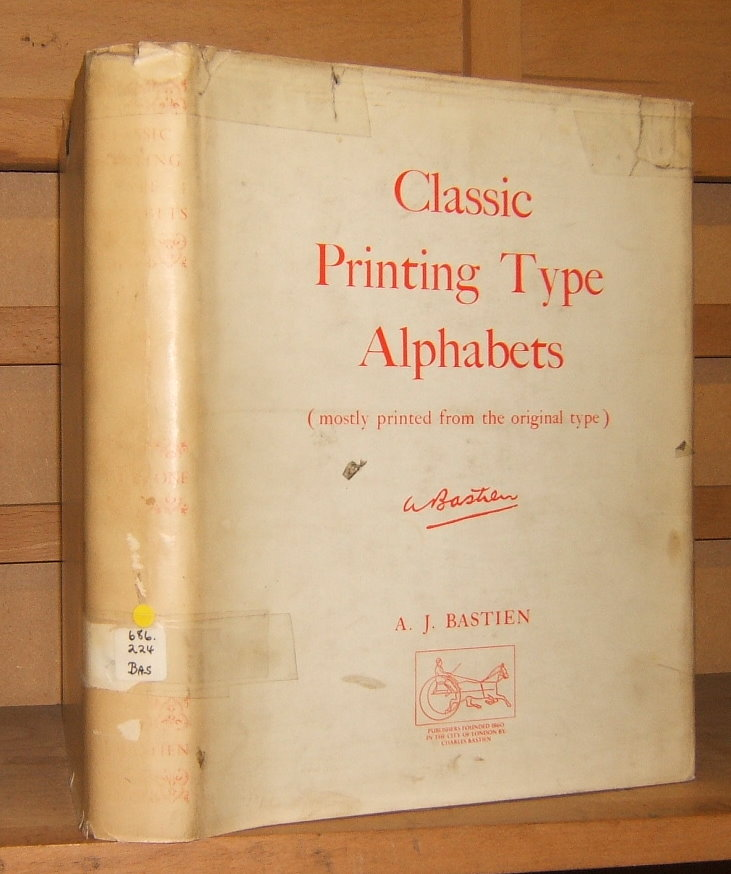 Image for Classic Printing Type Alphabets