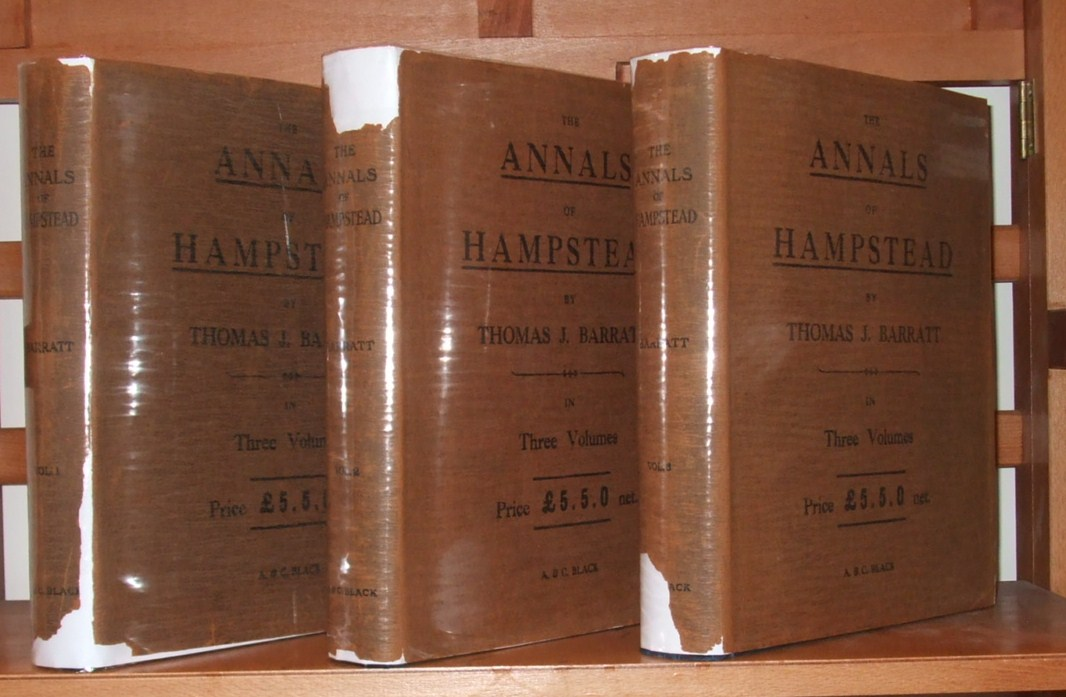 Image for The Annals of Hampstead ( 3 Volumes, Limited Signed Edition )