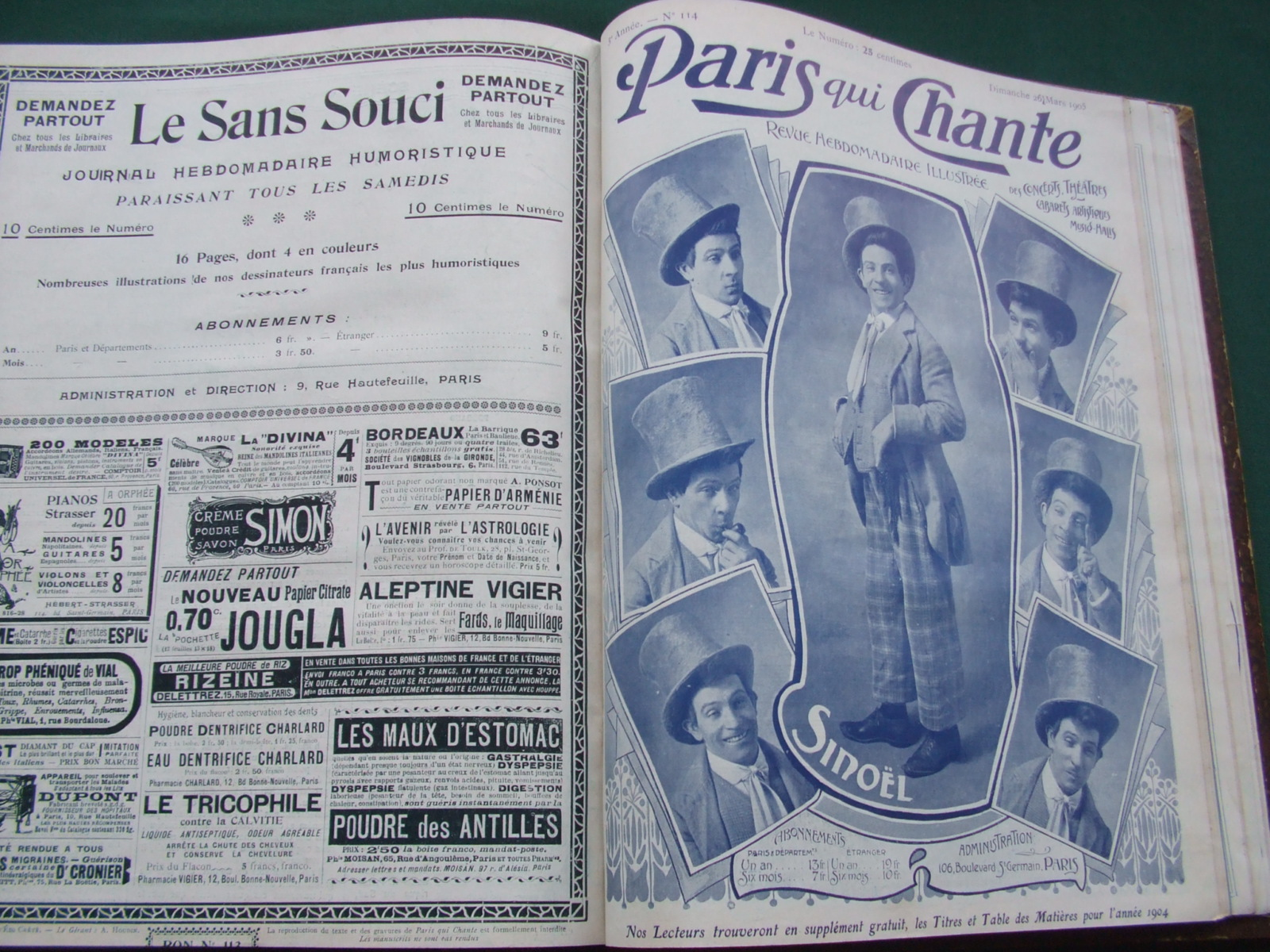 Image for Paris Qui Chante [ Issue 1 to 117 ]