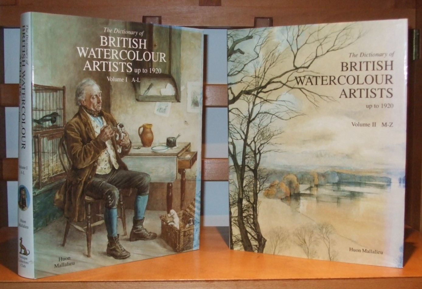 Image for The Dictionary of British Watercolour Artists Up to 1920 [ Complete in 2 Volumes ]