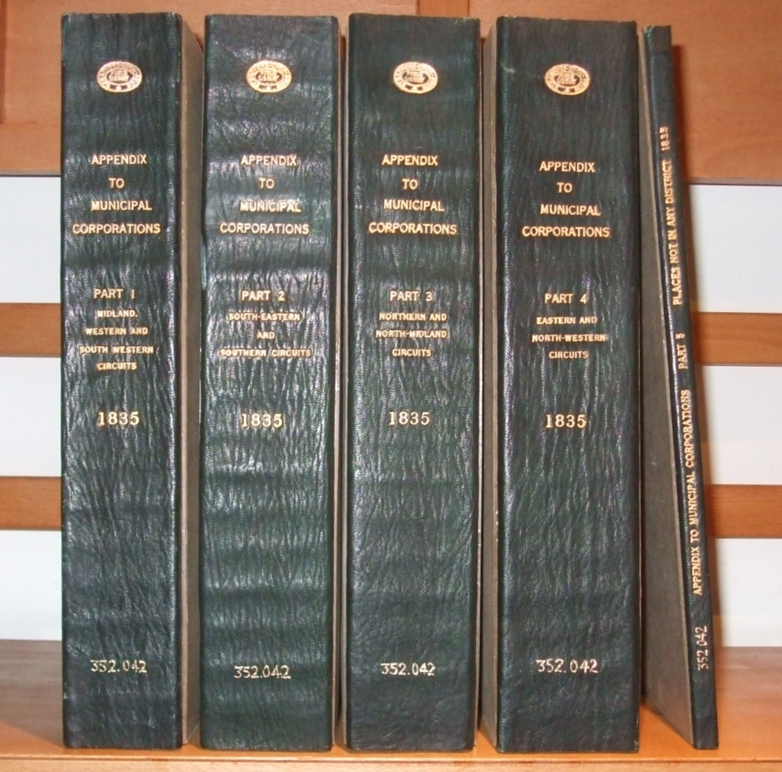 Image for Appendix to the Report of the Commissioners [ 5 Volumes ]