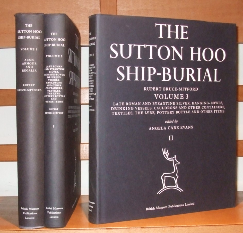Image for The Sutton Hoo Ship-Burial [ 3 Volumes ]