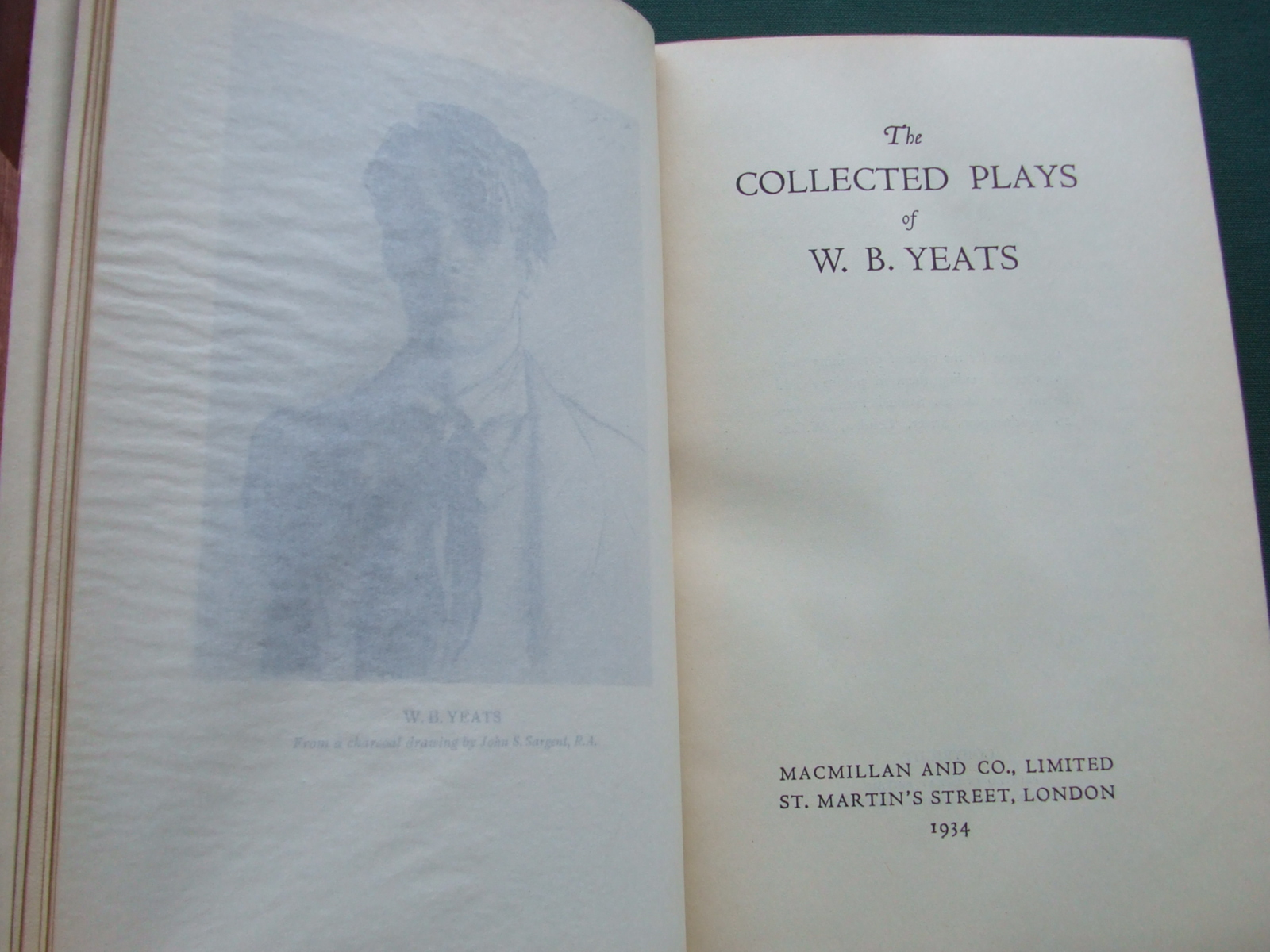 Image for The Collected Plays of W. B. Yeats