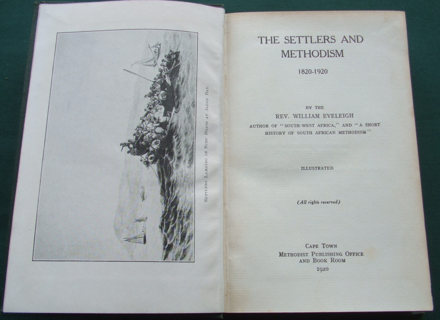 Image for The Settlers and Methodism 1820-1920 [ Inscribed Copy ]