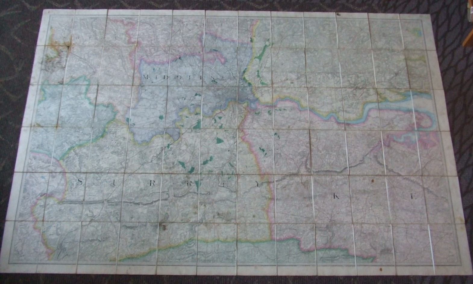 Image for Ordnance Survey [ Middlesex & Surrey ]