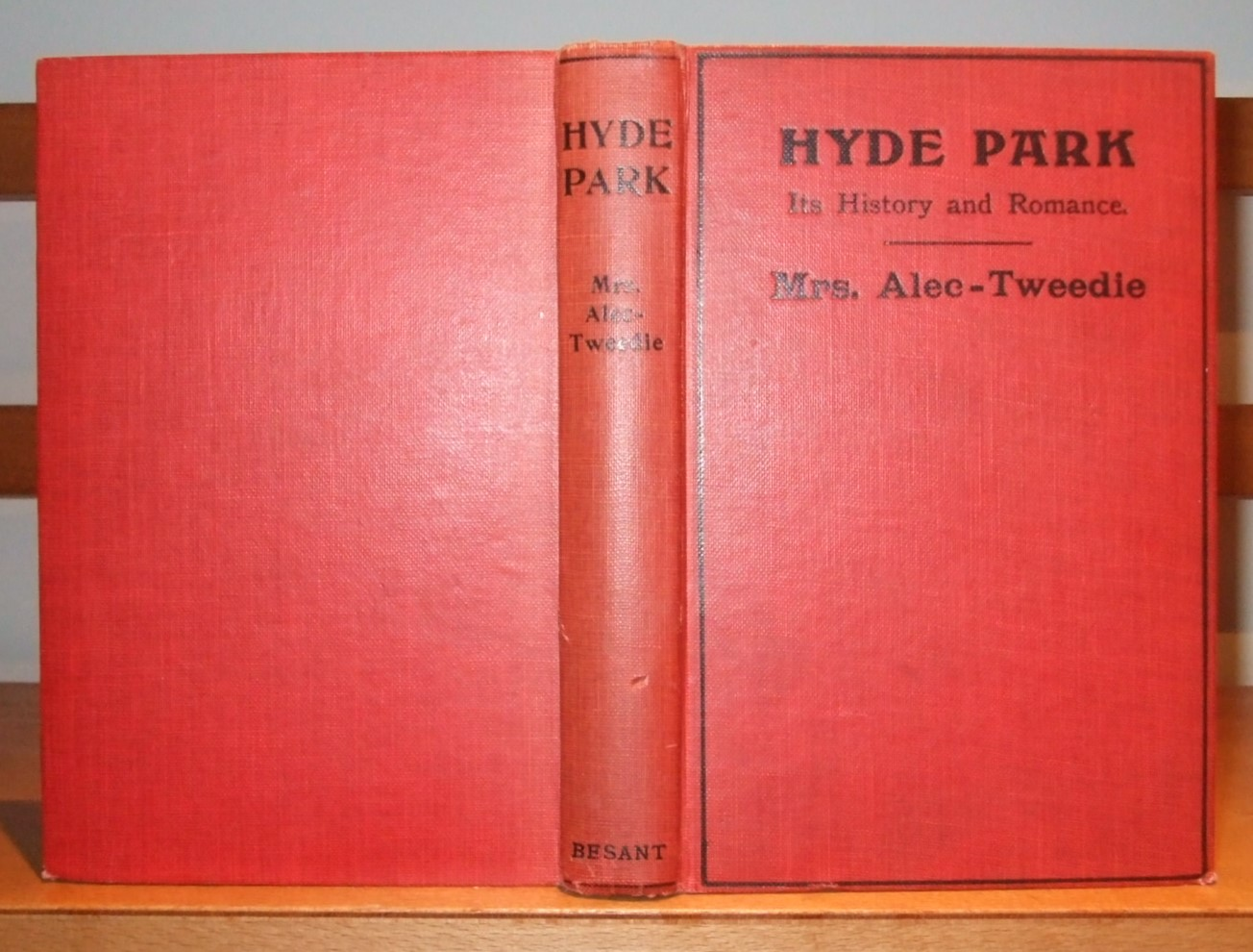 Image for Hyde Park Its History & Romance [ Inscribed with Letter ]