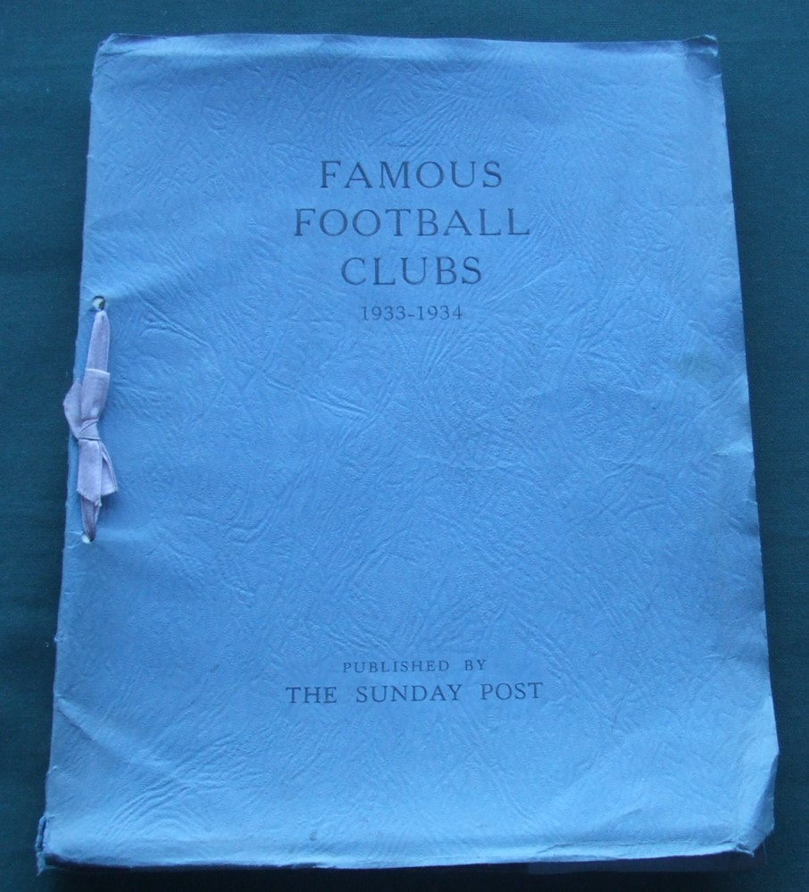 Image for Famous Football Clubs 1933-1934