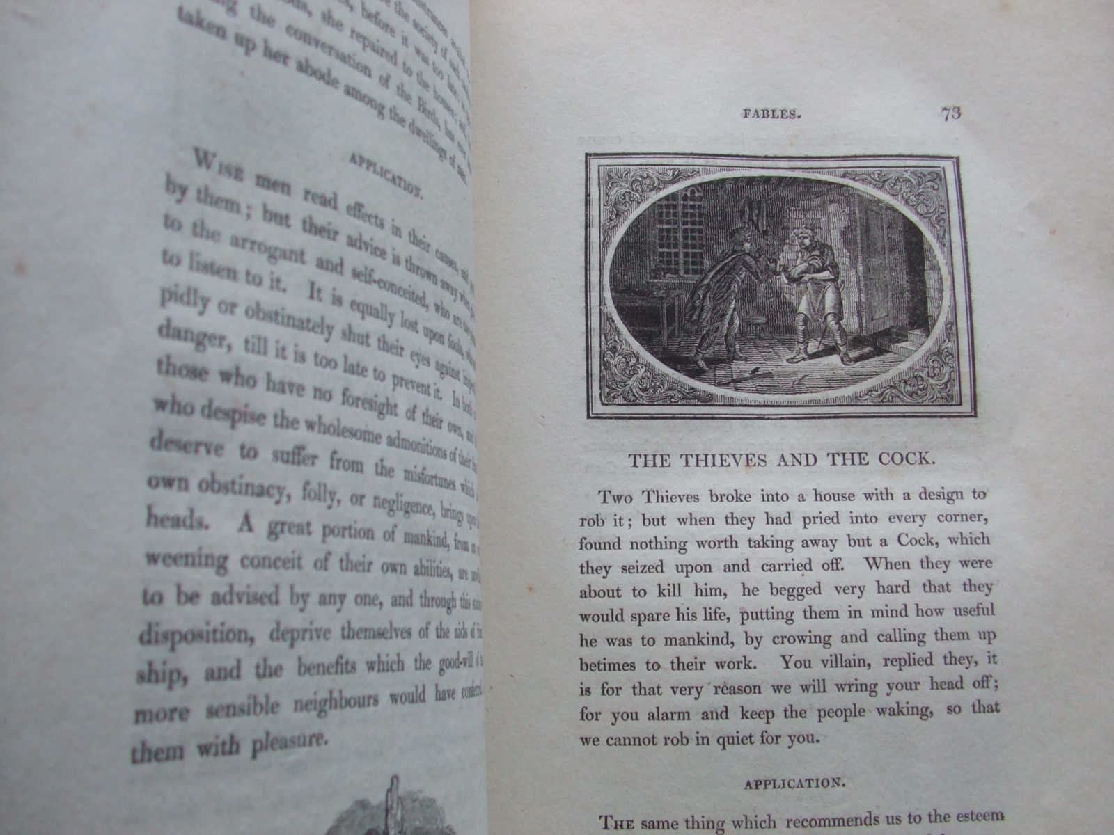 Image for The Fables of Aesop, and Others with Designs on Wood  [ with the Thumb Print ]