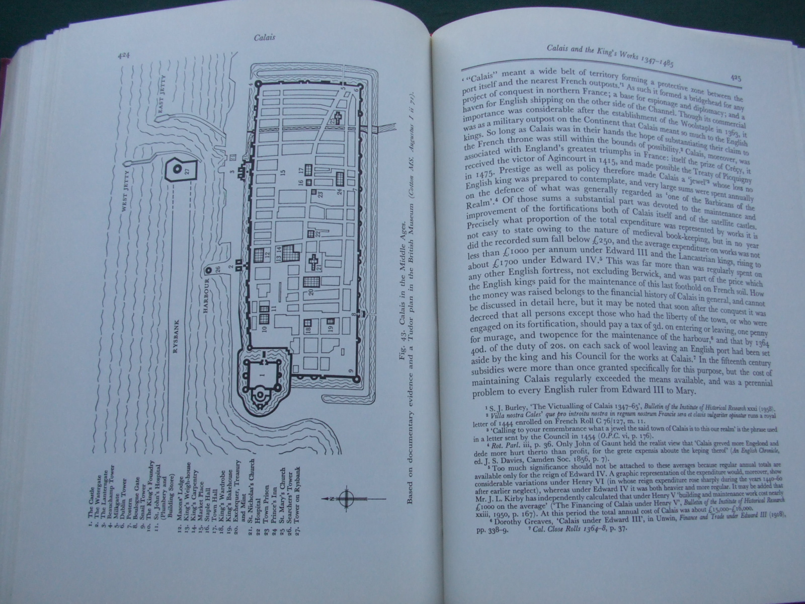 Image for The History of the King's Works ( 6 Volumes, Plus  Volume of  Plans )