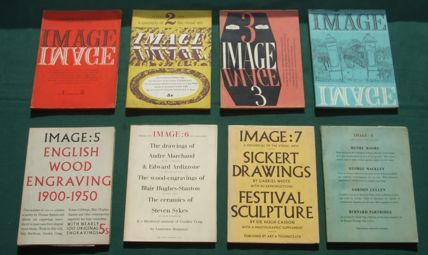 Image for Image a Quarterly of the Visual Arts [ Complete in 8 Volumes ]