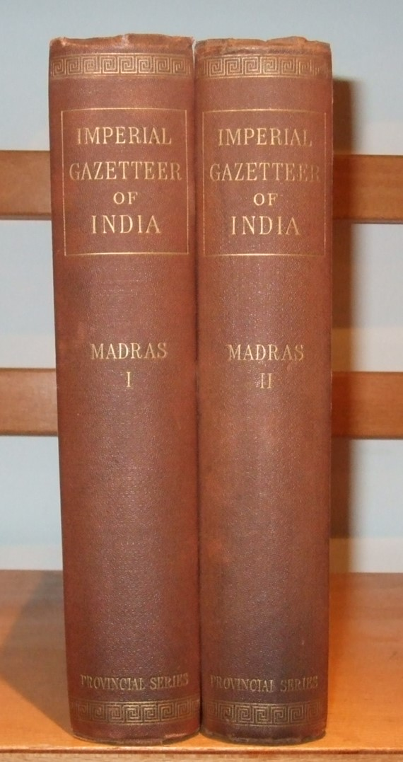 Image for Imperial Gazetteer of India Provincial Series Madras [ Complete in 2 Volumes ]