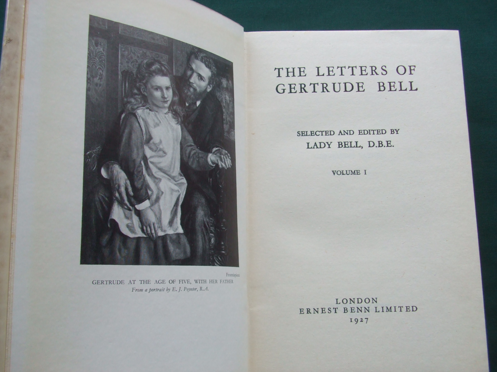 Image for The Letters of Gertrude Bell Selected and Edited By Lady Bell D. B. E. [ Complete in 2 Volumes ]