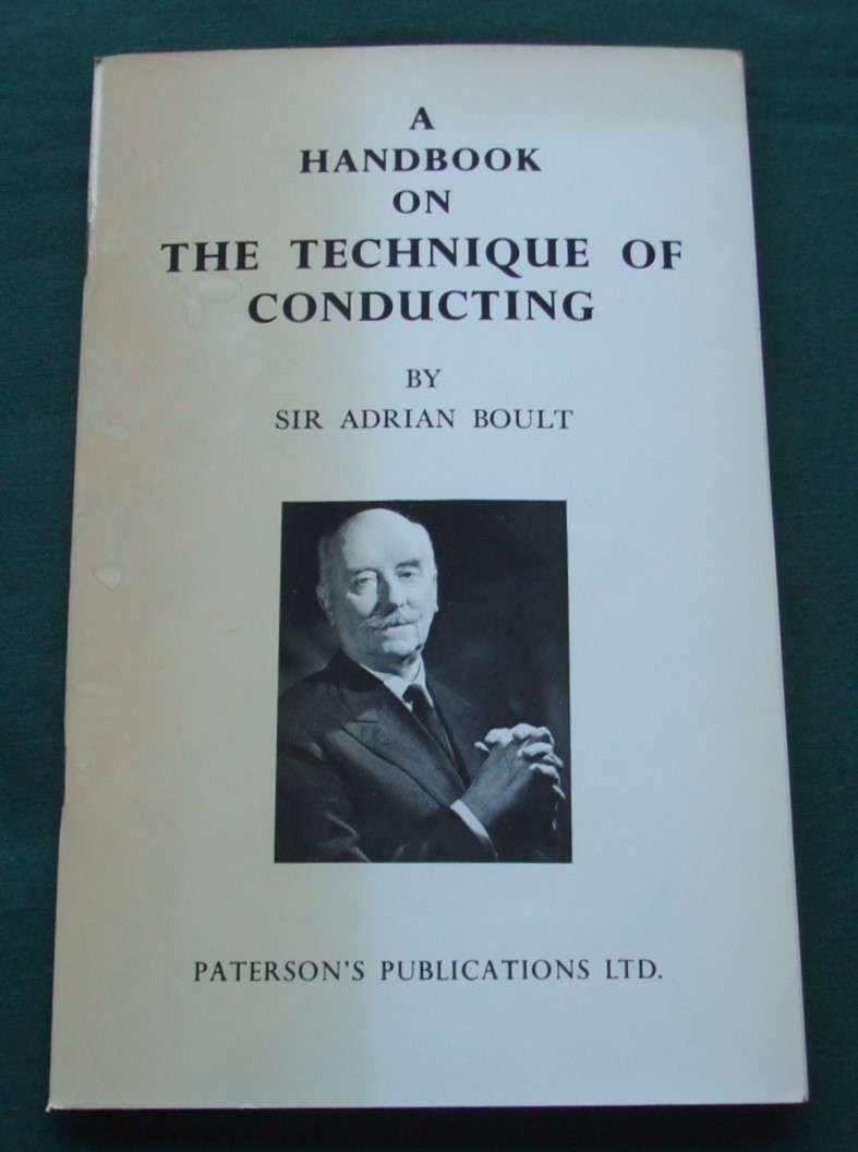 Image for A Handbook on the Technique of Conducting [ Inscribed Copy ]