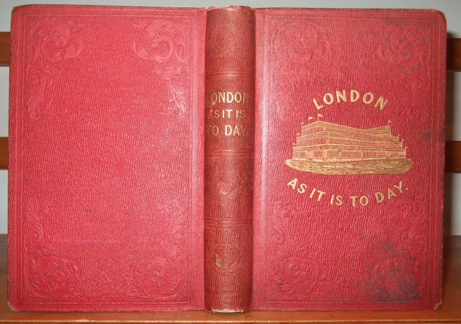 Image for London as it is to Day; Where to go, and What to See [ with Upwards of Two Hundred Engravings on Wood ]