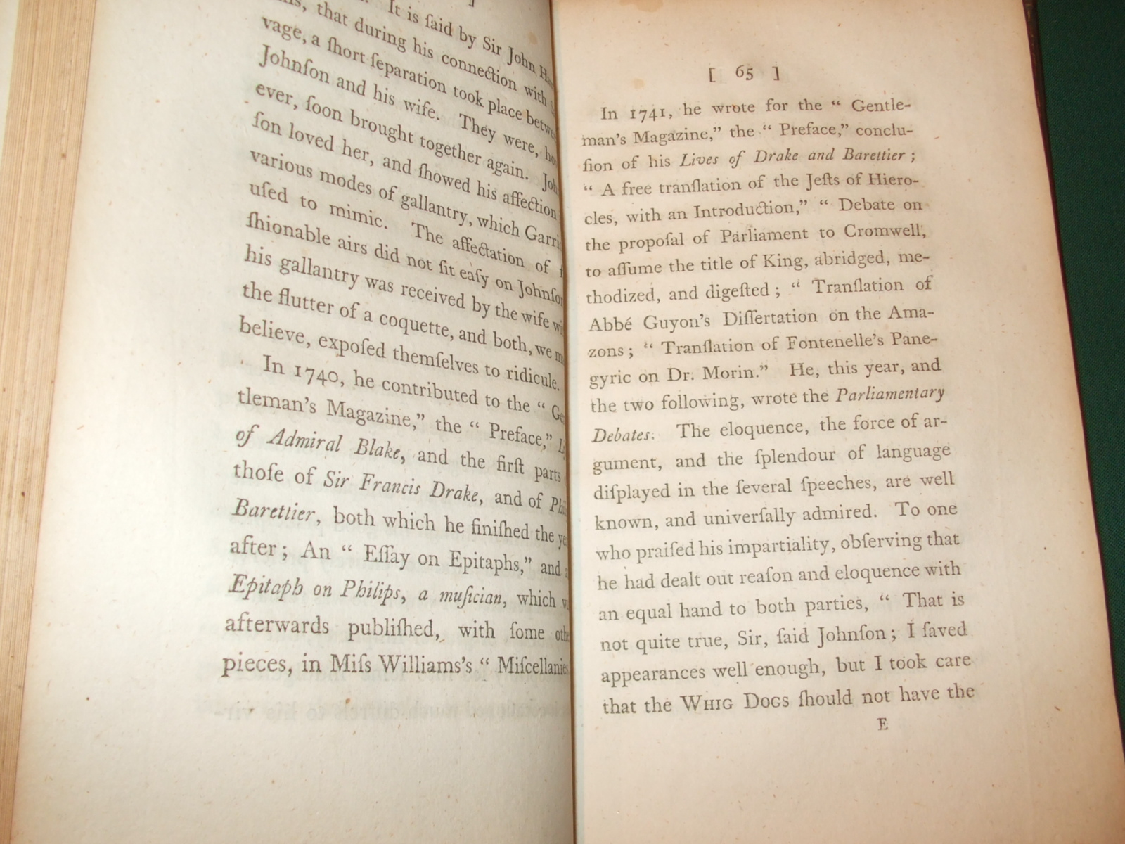 Image for The Life of Samuel Johnson, LL. D. With Critical Observations on His Works