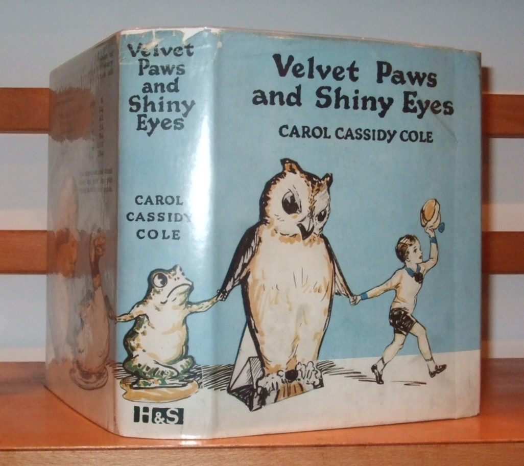 Image for Velvet Paws and Shiny Eyes