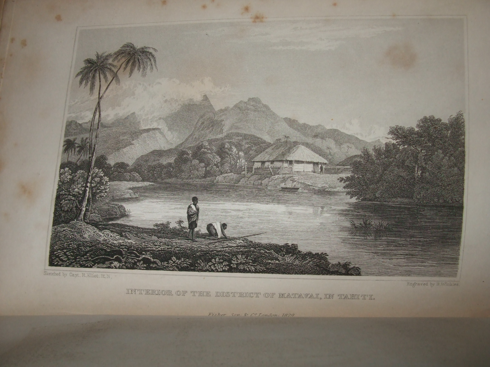 Image for Polynesian Researches, during a residence of nearly six years in the South Sea Islands; including descriptions of the natural history and scenery of the islands-with remarks on the history, mythology, traditions, Government. [ Complete in 2 Volumes ]