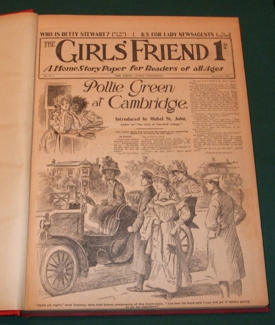 Image for The Girls' Friend a Home Story Paper for Readers of All Ages [ 25 Issues ]