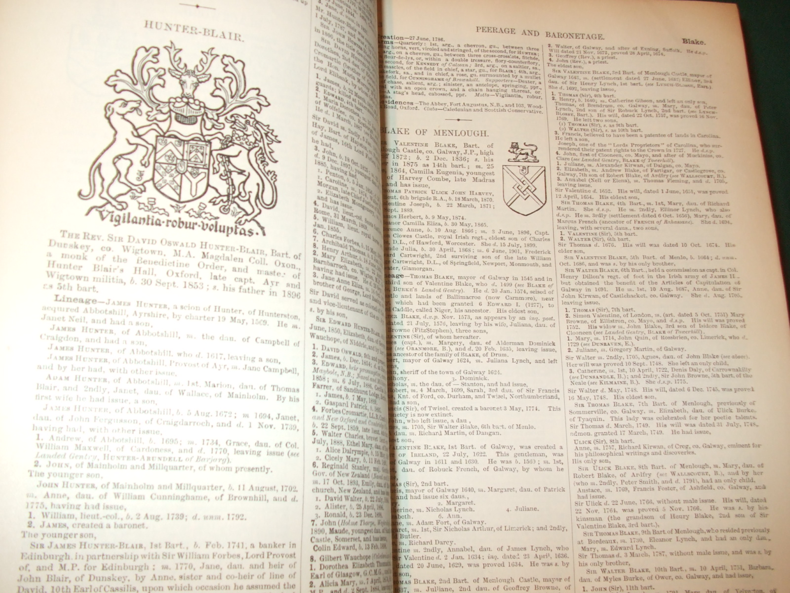 Image for A genealogical and heraldic dictionary of the peerage and baronetage, the privy council, knightage and Companionage