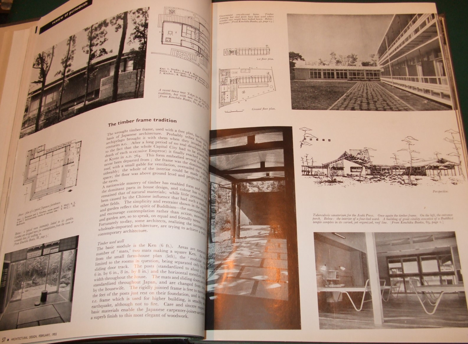 Image for Architectural Design [1955, 12 Issues, Full Year ]