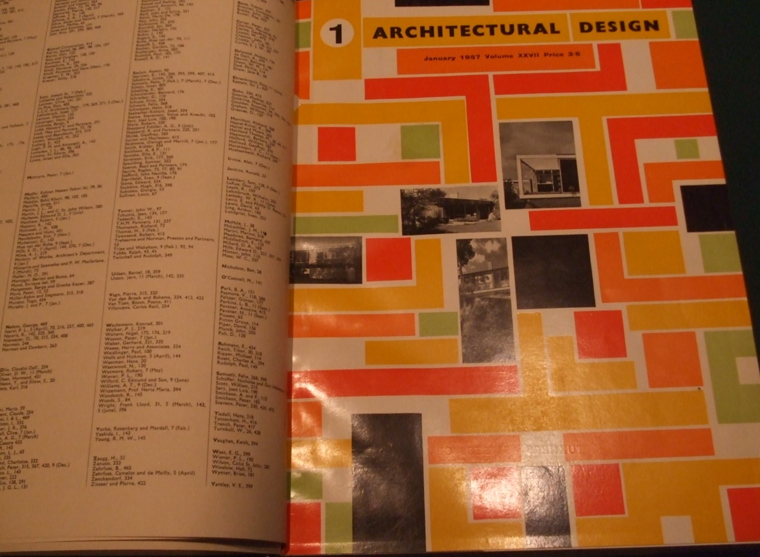 Image for Architectural Design [1957, 12 Issues, Full Year ]