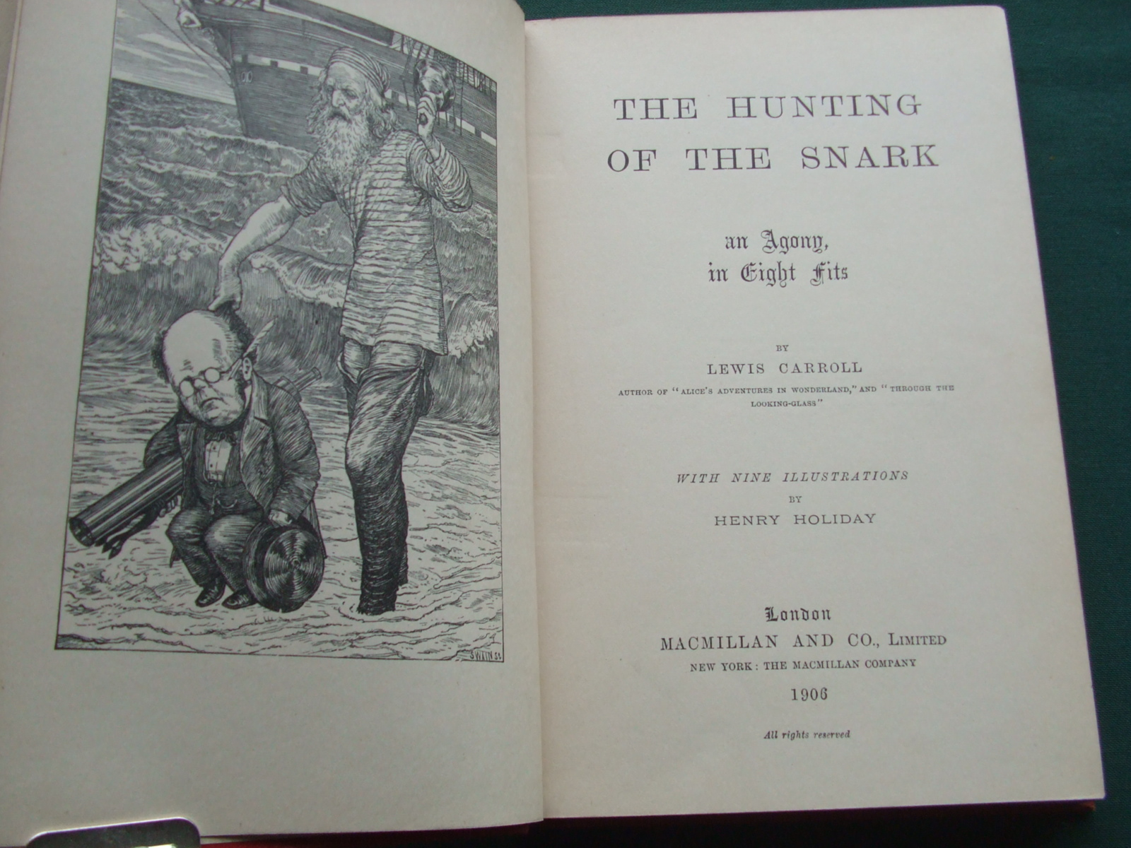 Image for The Hunting of the Snark an Agony in Eight Fits