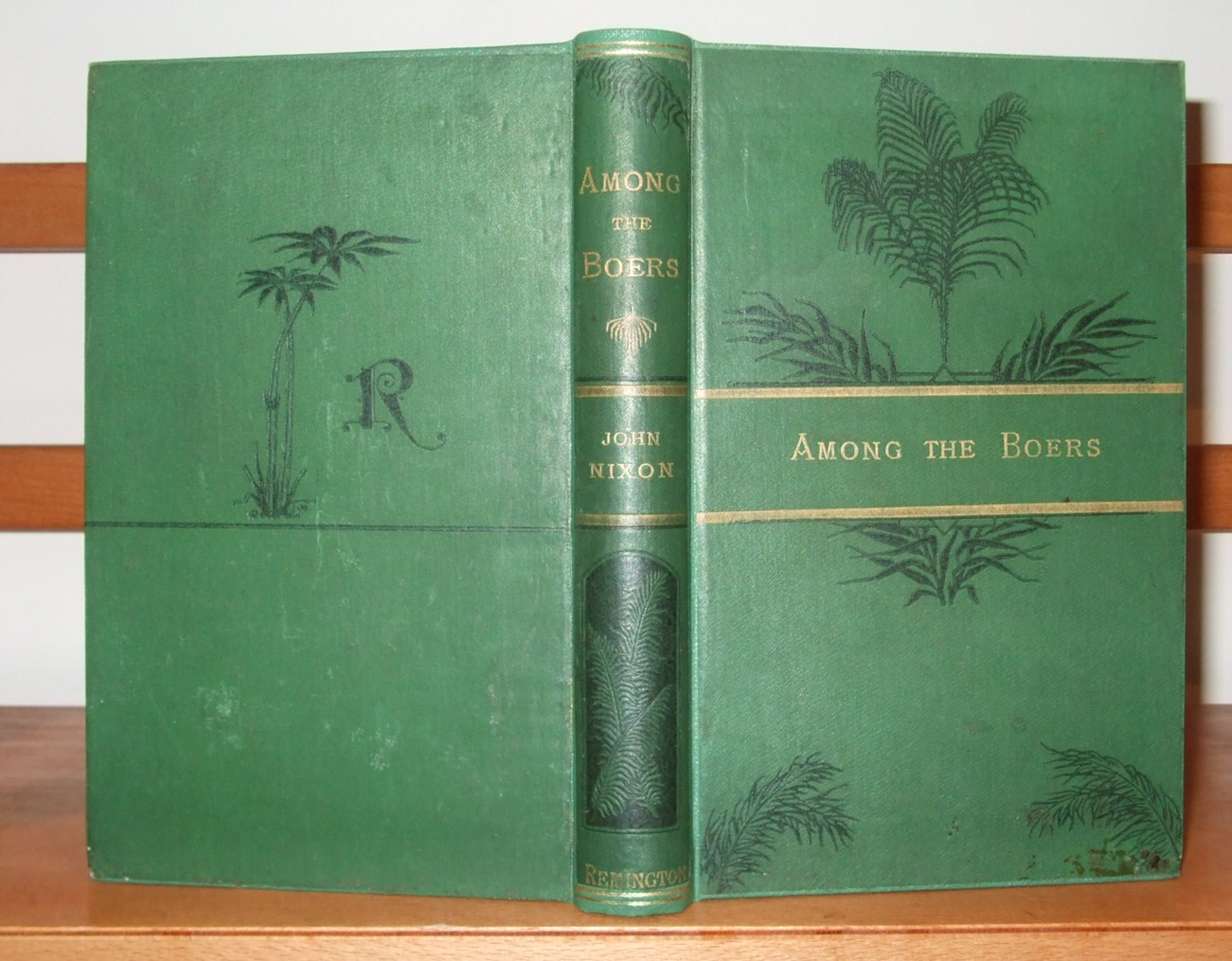 Image for Among the Boers: or, Notes of a Trip to South Africa in Search