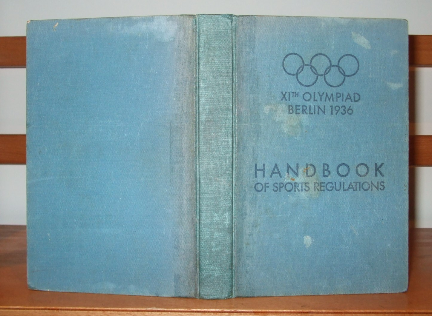 Image for XIth Olympiad Berlin 1936. Handbook General Rules and Programmes of the Competitions