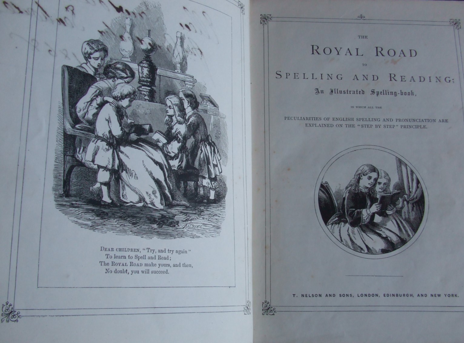 "Image for The Royal Road To Spelling and Reading; An Illustrated Spelling-book, in which all the Peculiarities of English Spelling and Pronounciation are Explained on the ""Step by Step"" Principle."