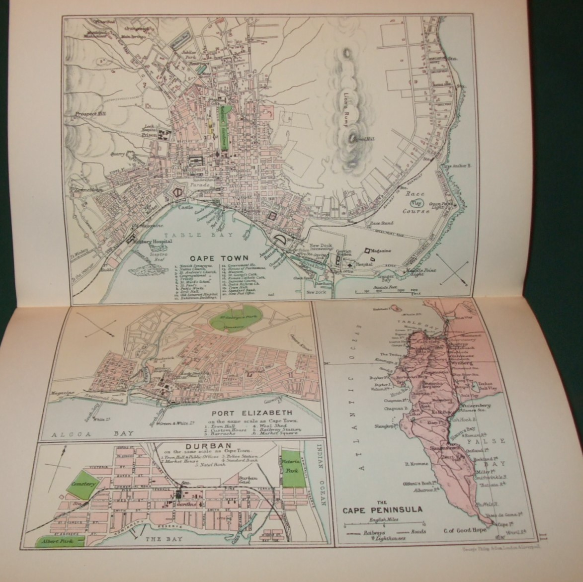 Image for The Castle Line Atlas Of South Africa