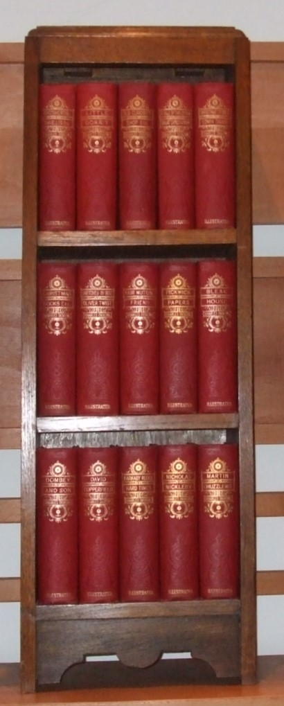 Image for Works of Charles Dickens [ Complete in 15 Volumes ] in Period Bookcase