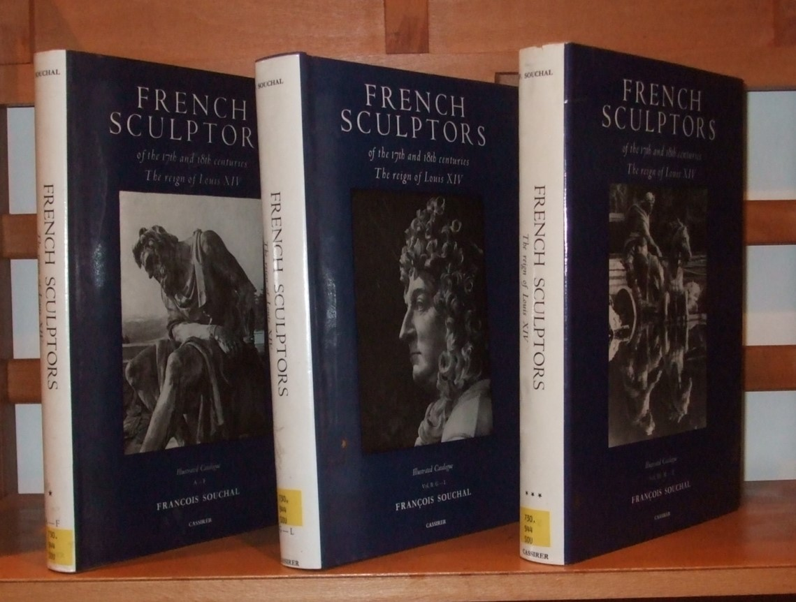 Image for French Sculptors of the 17th and 18th Centuries [ the Reign of Louis XIV } [ 3 Volumes ]