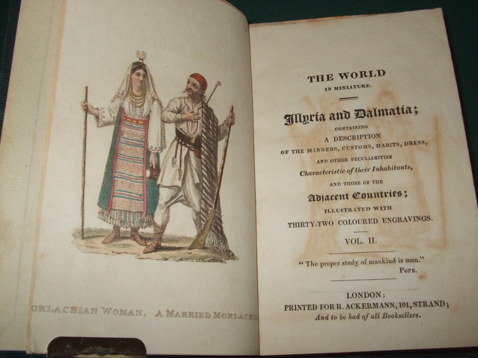 Image for The World in Miniature. Illyria and Dalmatia [ Complete in 2 Volumes, with All 32 Coloured Plates ]