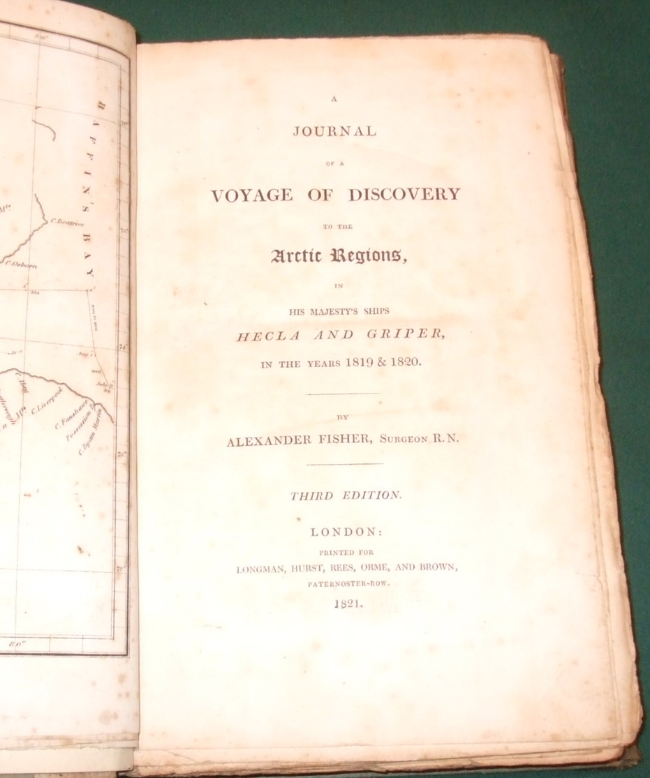 Image for A Journal of a Voyage of Discovery to the Arctic Regions in His Majesty's Ships Hecla and Griper in the Years 1819 & 1820