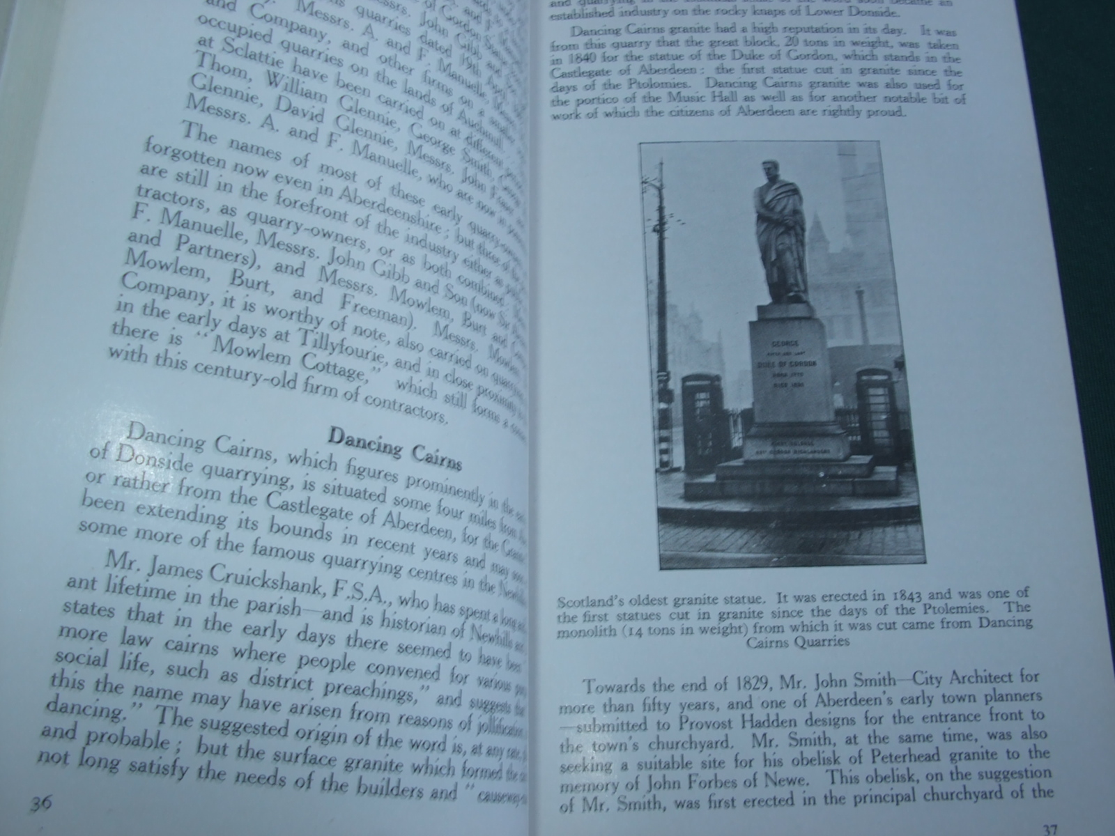Rise and Progress of the Granite Industry in Aberdeen