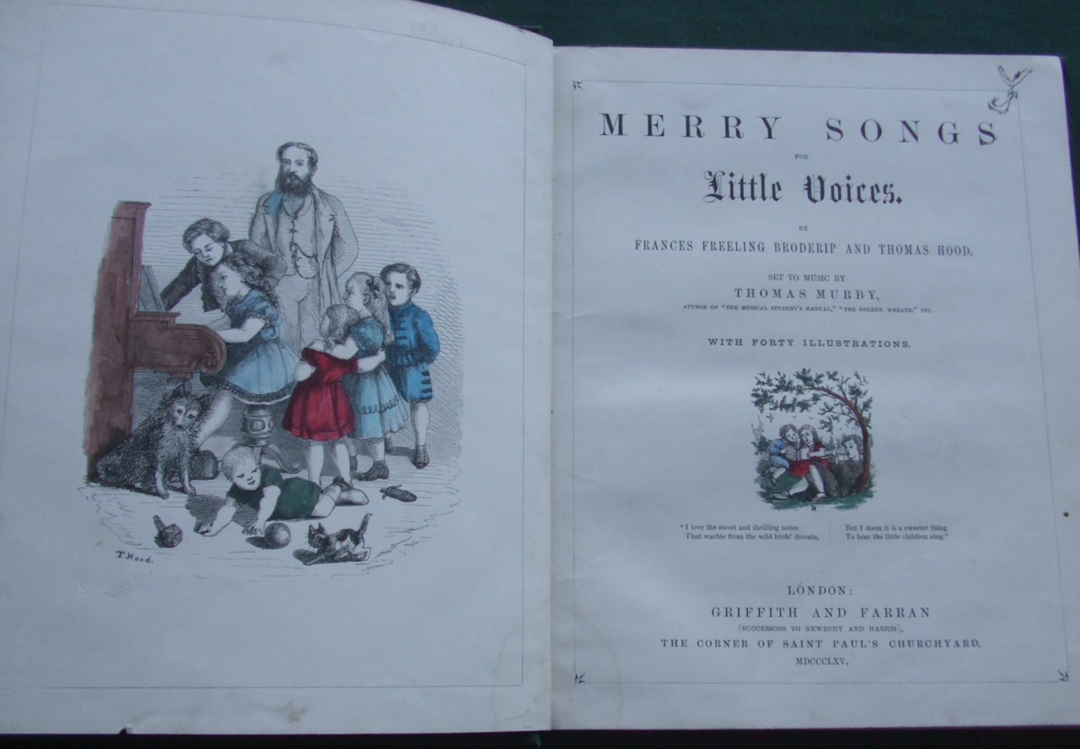 Image for Merry Songs for Little Voices [ Set to Music By Thomas Murby ]