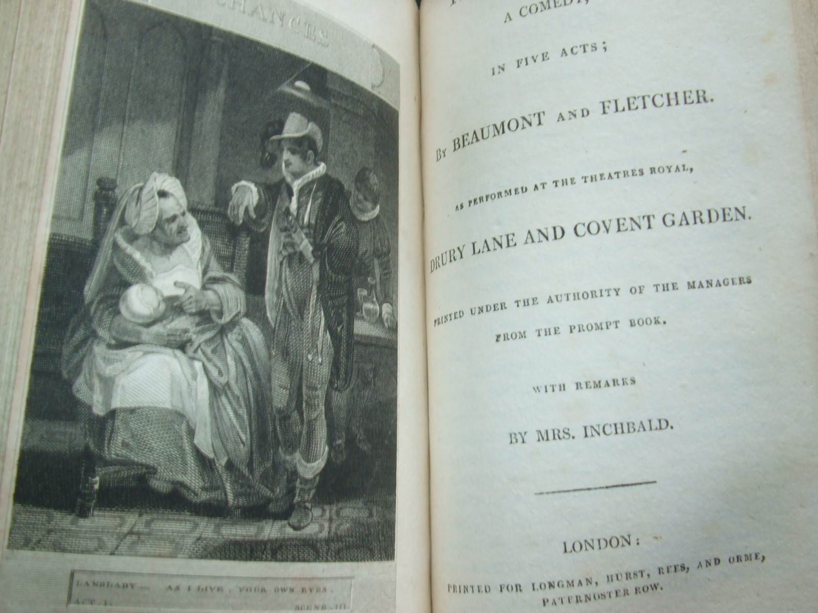 Image for Plays and Farces. [ 27 Leather Bound Volumes ]
