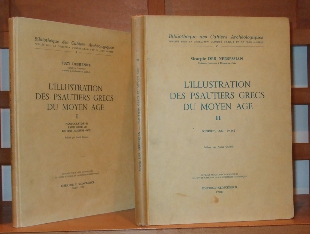 Image for L'illustration Des Psautiers Grecs Du Moyen Age  [ Complete in 2 Volumes ]