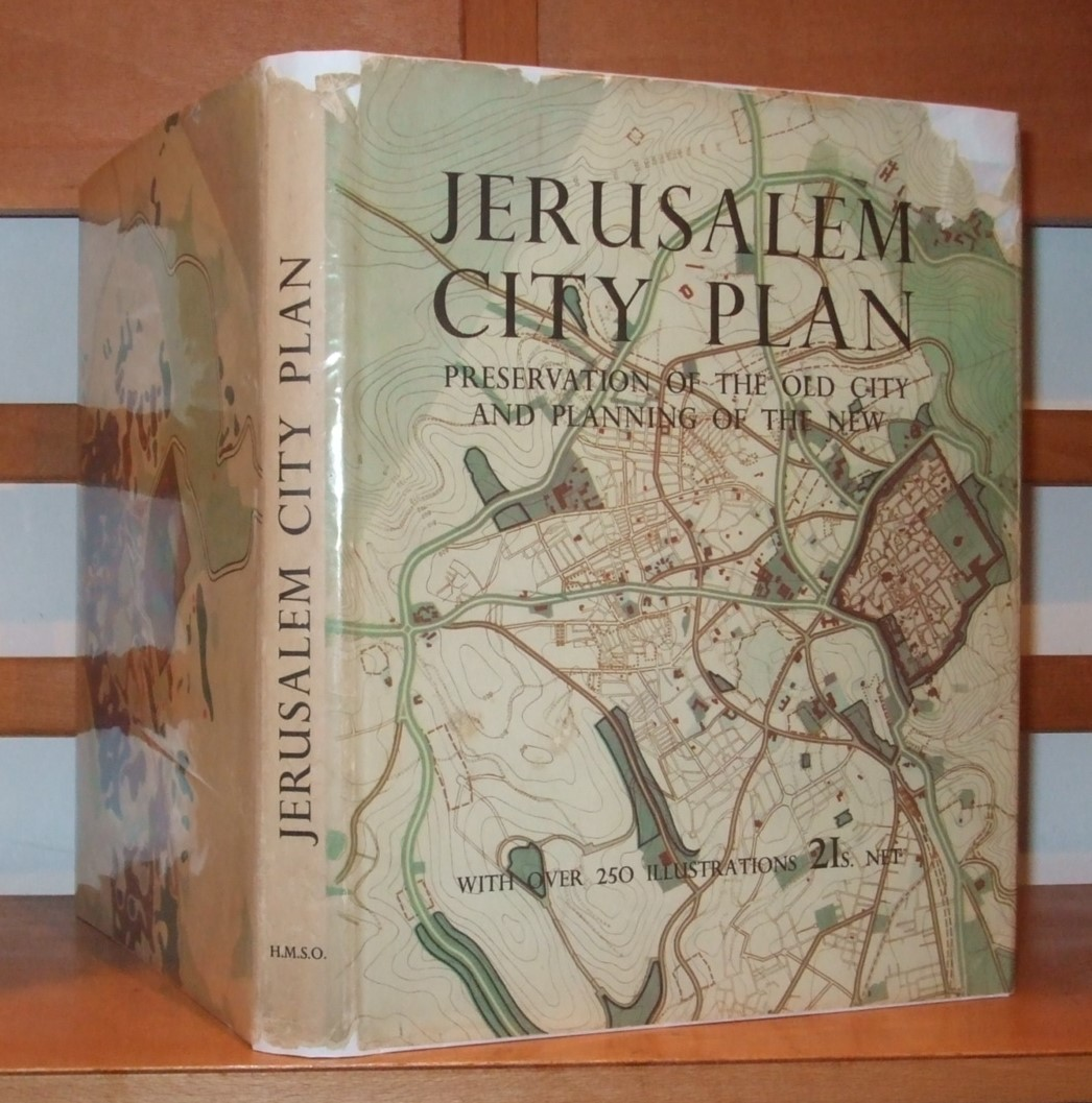 Image for Jerusalem - The City Plan: Preservation and Development during the British Mandate 1918-194