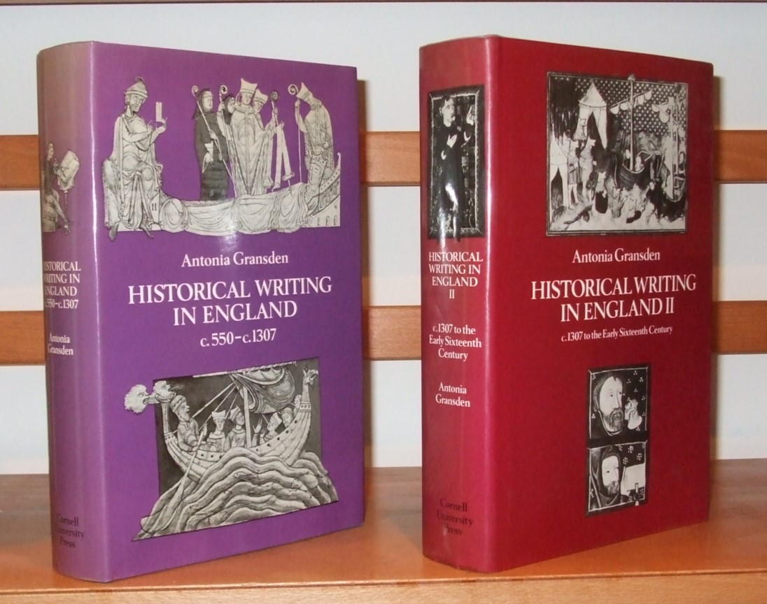 Image for Historical Writing in England c 550 to C. 1307- C. 1307 to the Early Sixteenth Century [ Complete in 2 Volumes ]