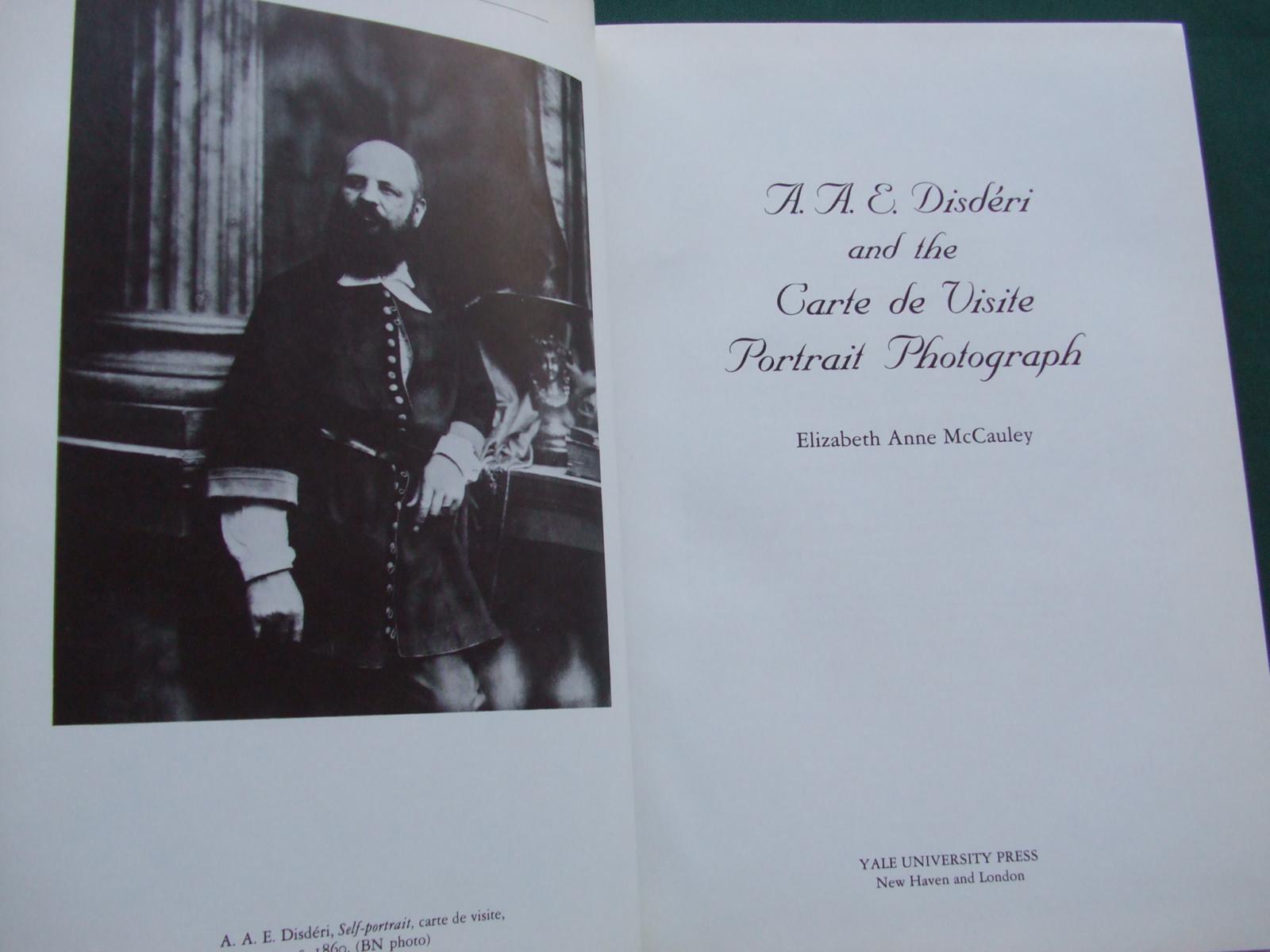 AAEDisderi And The Carte De Visite Portrait Photograph