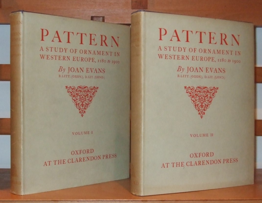 Image for Pattern a Study of Ornament in Western Europe from 1180 to 1900 [ Complete in 2 Volumes ]