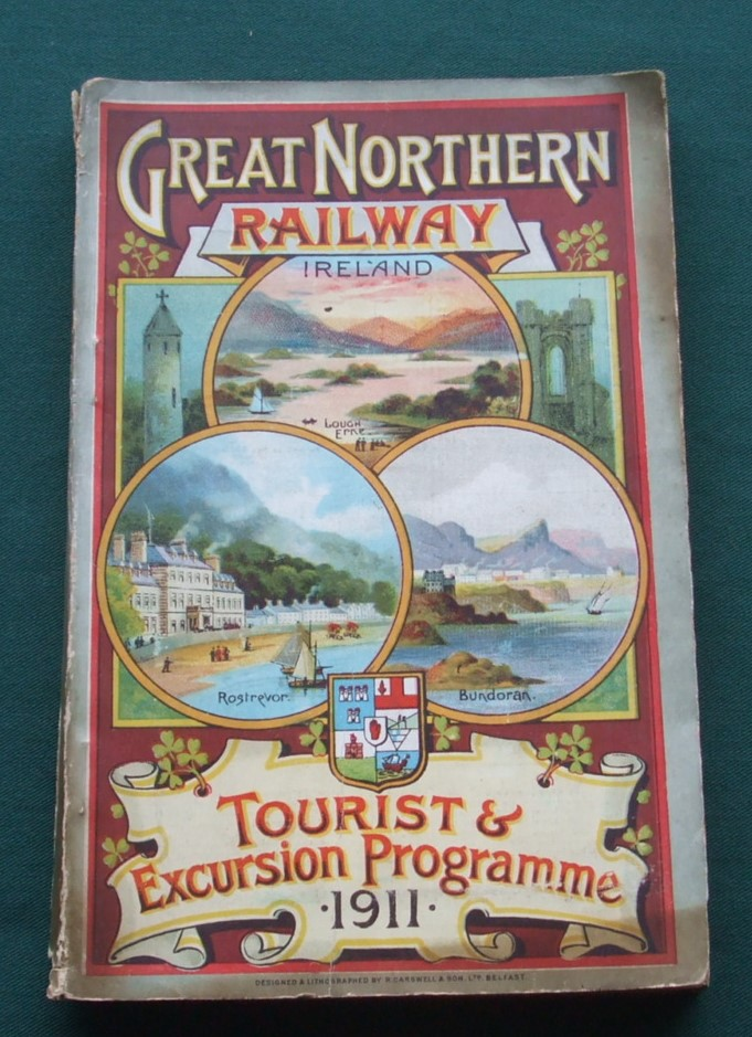 Image for Great Northern Railway of Ireland. Illustrated Tourist & Excursion Programme 1911.