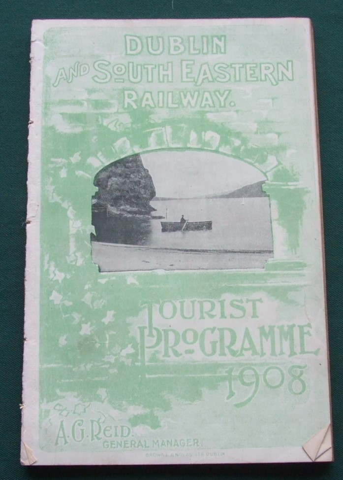 Image for Dublin and South Eastern Railway Tourist Programme 1908