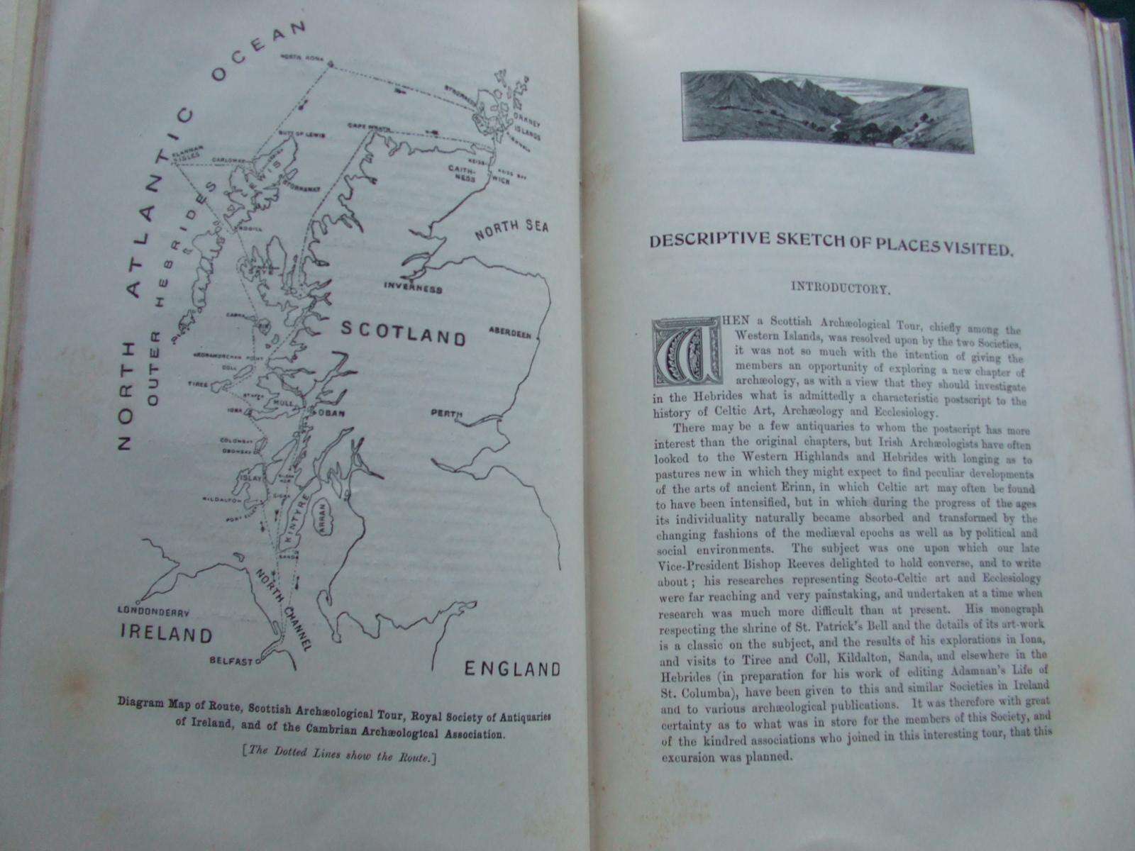 Image for Report of the Excursion of the Cambrian Archaeological Association In Connexion With The Royal Society of Antiquaries of Ireland, to the Western Islands of Scotland, Orkney, and Caithness, June 1899.
