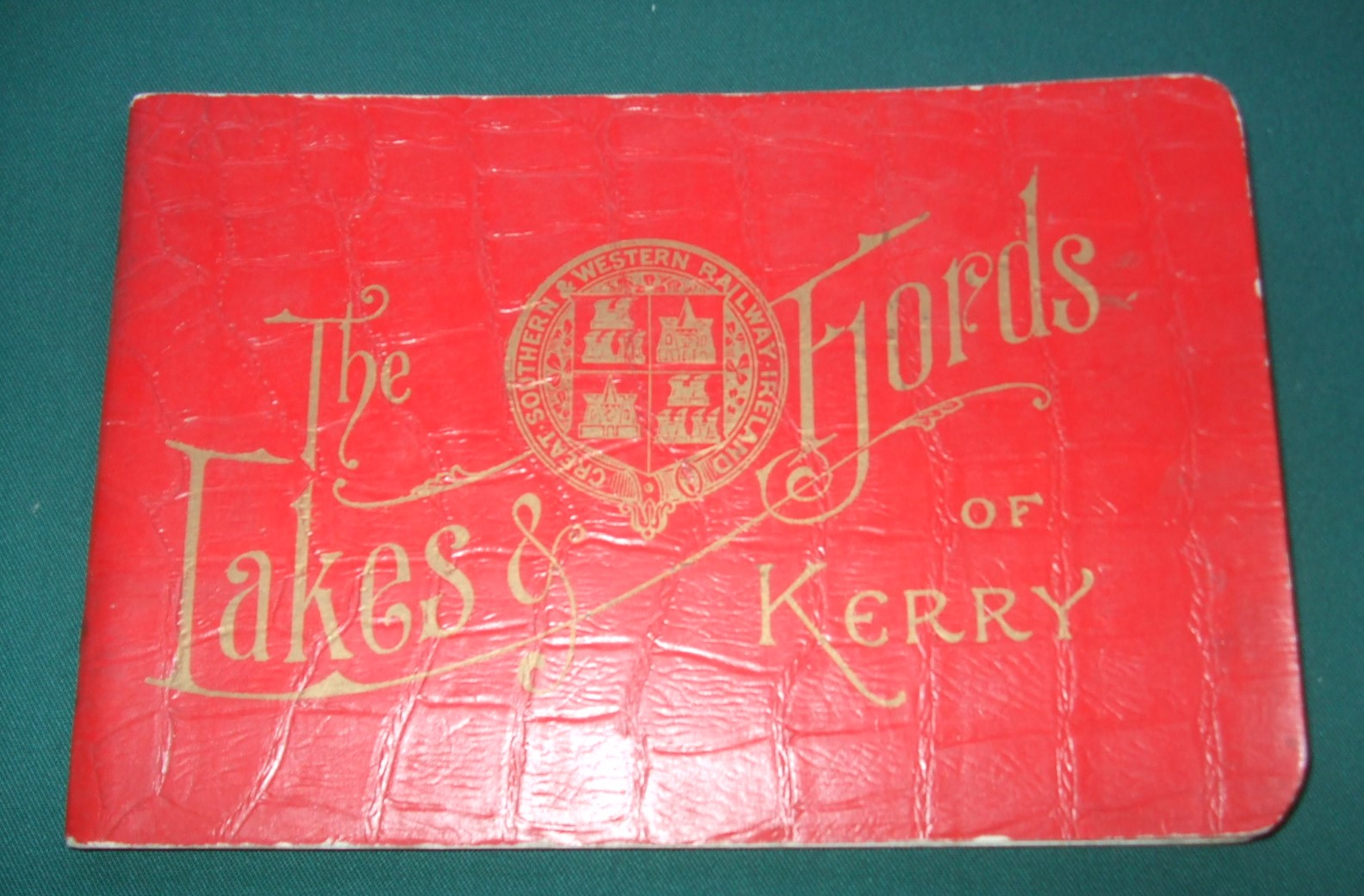 Image for The lakes and fjords of Kerry : the grand Atlantic coast tour to Killarney, Valencia, Waterville, Parknasilla, and Kenmare.
