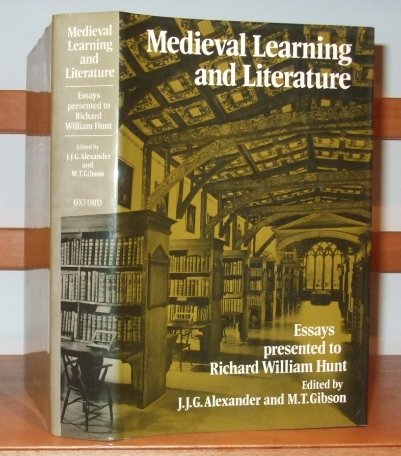 Image for Mediaeval Learning and Literature  Essays Presented to Richard William Hunt