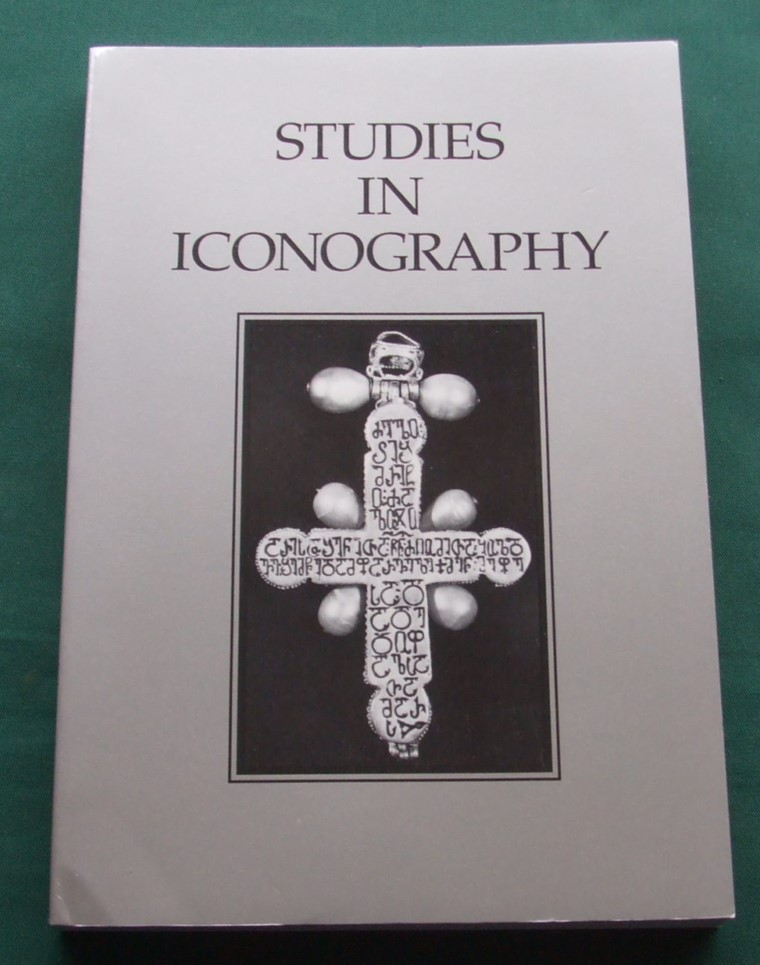 Image for Studies in Iconography. Volume 20, 1999