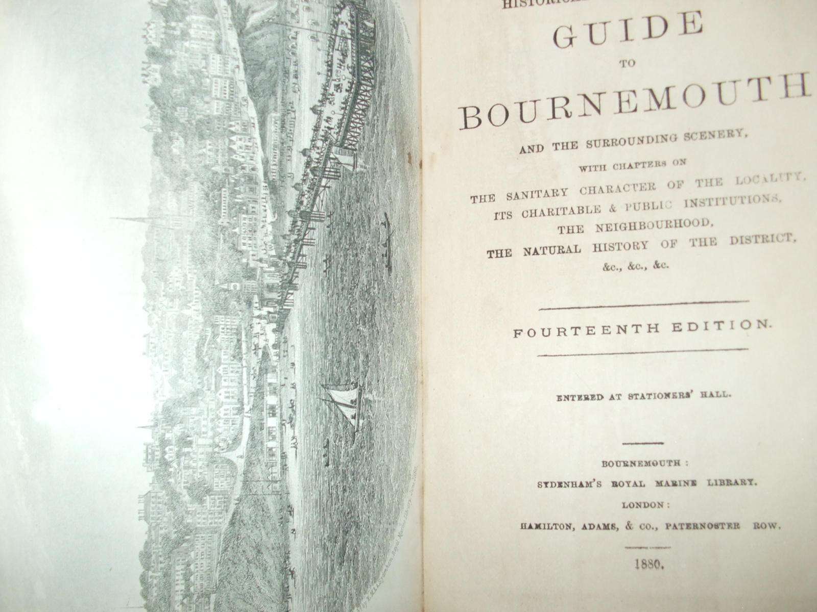 Image for The Illustrated Historical and Descriptive Guide to Bournemouth and Surrounding Scenery