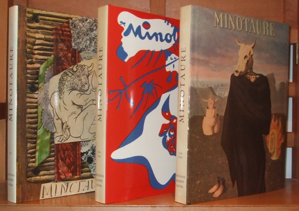 Image for Minotaure 1933 1934-1936 1936-1939 [ Complete 3 Volumes ]